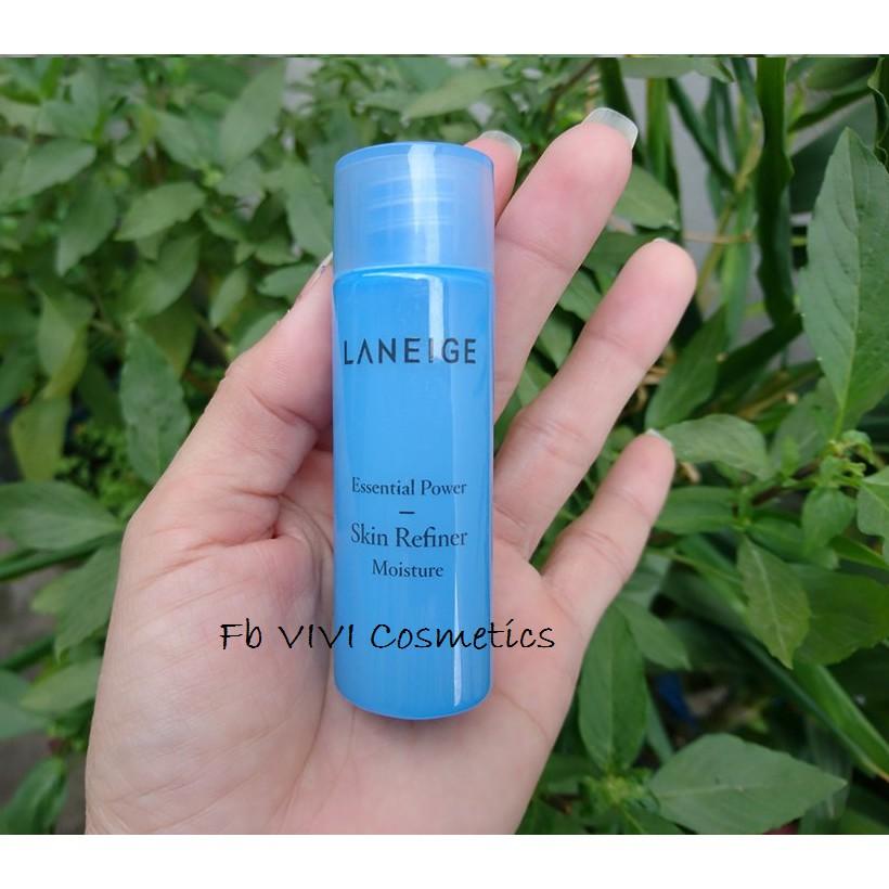 Nước hoa hồng dưỡng ẩm Laneige Essential Power Skin Refiner_Moisture MINI SIZE 25ml