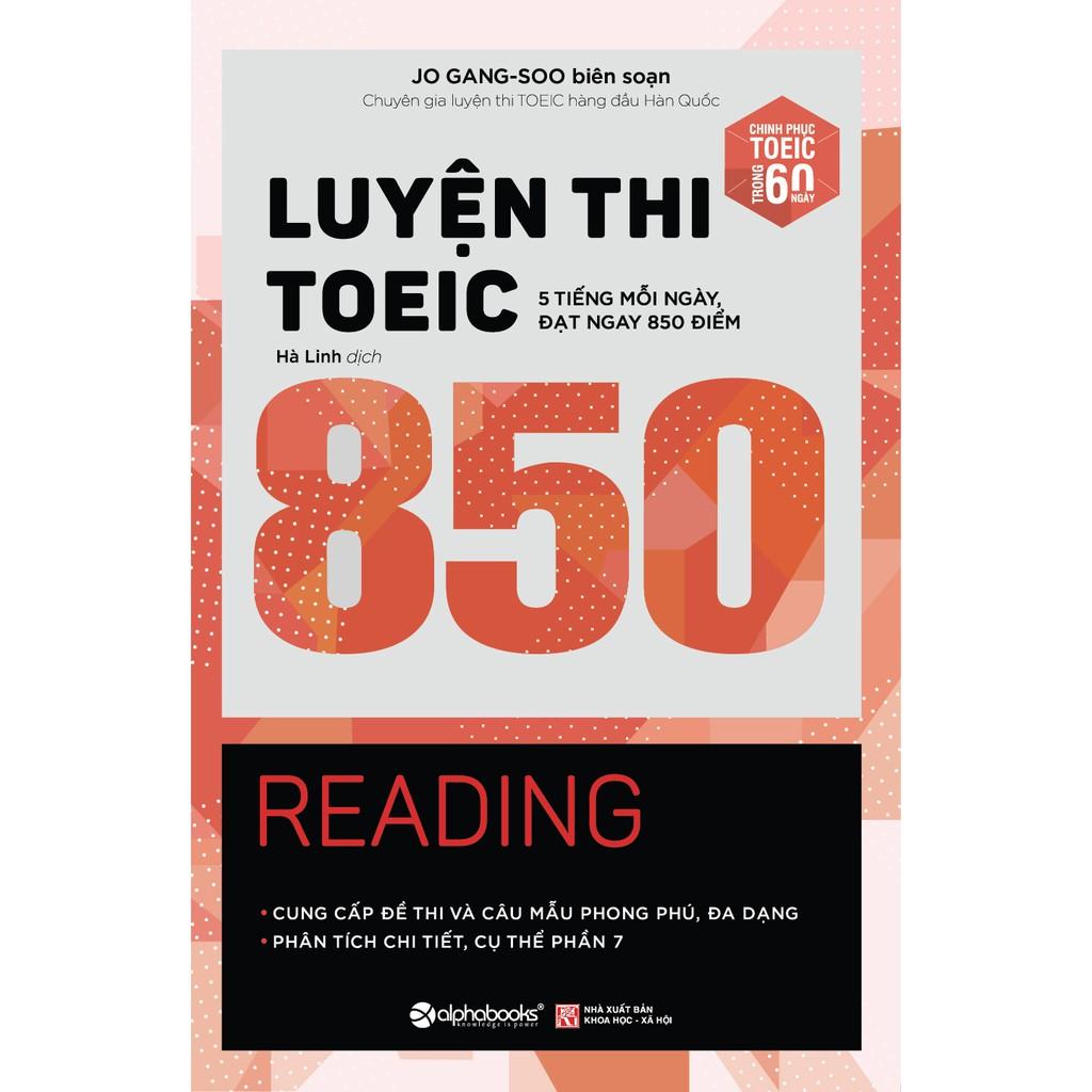 Sách - Luyện thi TOEIC 850 Reading