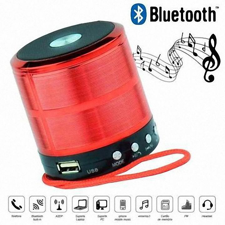 Loa bluetooth cầm tay mini WS887 nhỏ gọn, kết nối không dây nghe nhạc chất lượng