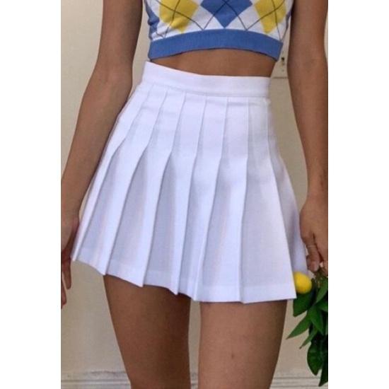 Chân váy tennis trơn 668