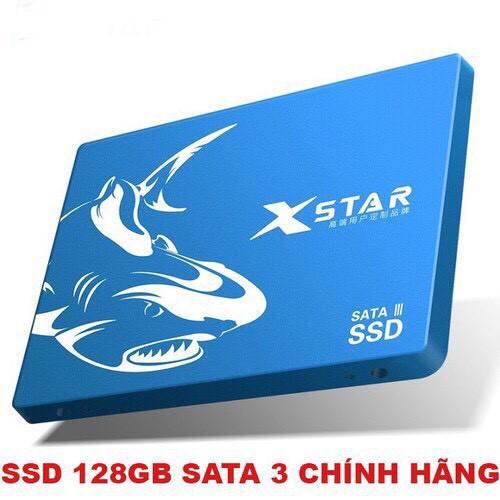[Mã 267ELSALE hoàn 7% đơn 300K] Ổ cứng ssd Xstar 128Gb Sata 3 Bảo hành 36 tháng