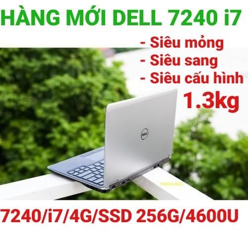 Laptop dell latitude E7240  i5 i7 4600u