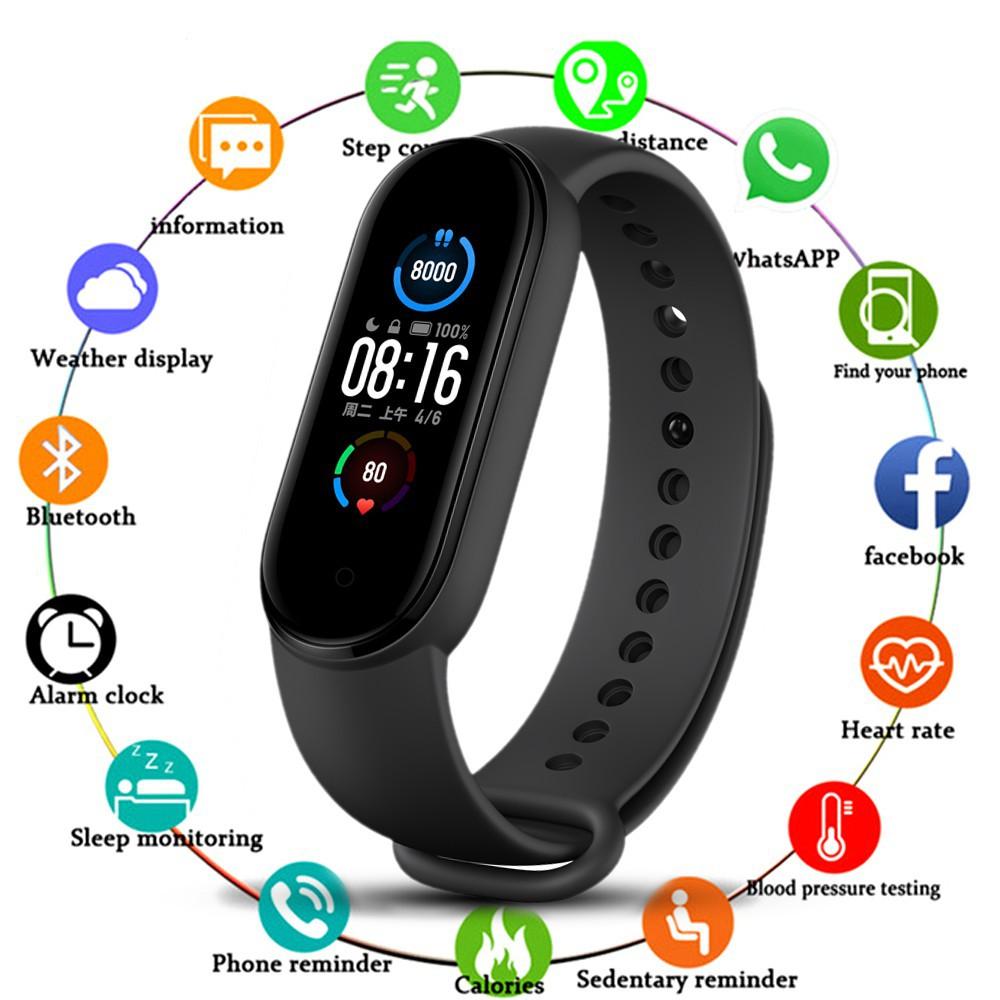 Đồng hồ thông minh thể thao M5 và Y68 5.0 chống nước kết nối Bluetooth