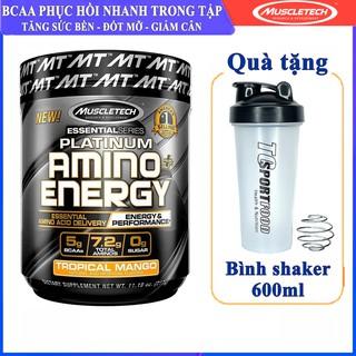 BCAA Platinum Amino Plus Energy của Muscle Tech hương XOÀI hộp 30 lần dùng hỗ trợ phục hồi cơ, giảm cân, đốt mỡ cao cấp thumbnail