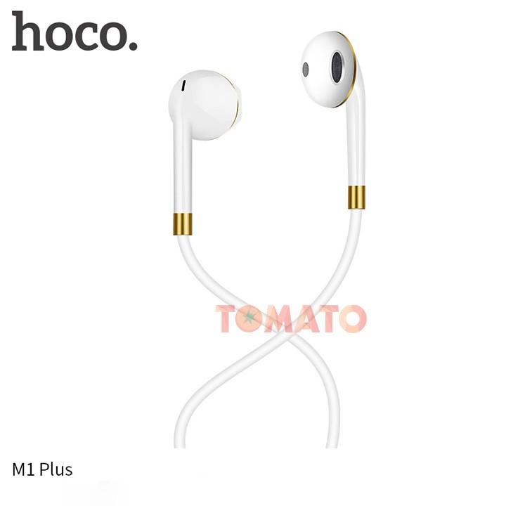 Tai Nghe IPhone Nhét Tai Hoco M1 Plus, Tai Nghe Có Dây Chính Hãng Cho IPhone 5/6/6s/6/plus/6s plus - Phụ Kiện Tomato