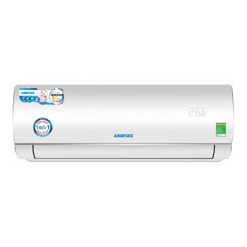 MIỄN PHÍ CÔNG LẮP ĐẶT - K12N66 - Máy lạnh Asanzo Inverter 1.5 HP K12N66