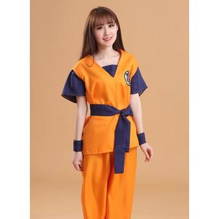 Trang phục cosplay Songoku trong Dragon Ball