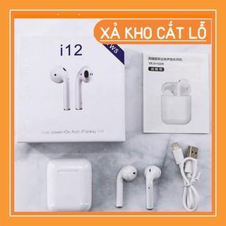 TAI NGHE Bluetooth i12 5.0 Cảm Ứng Cực Nhạy Tăng Chỉnh Âm Lượng Lỗi 1 Đổi 1 thumbnail