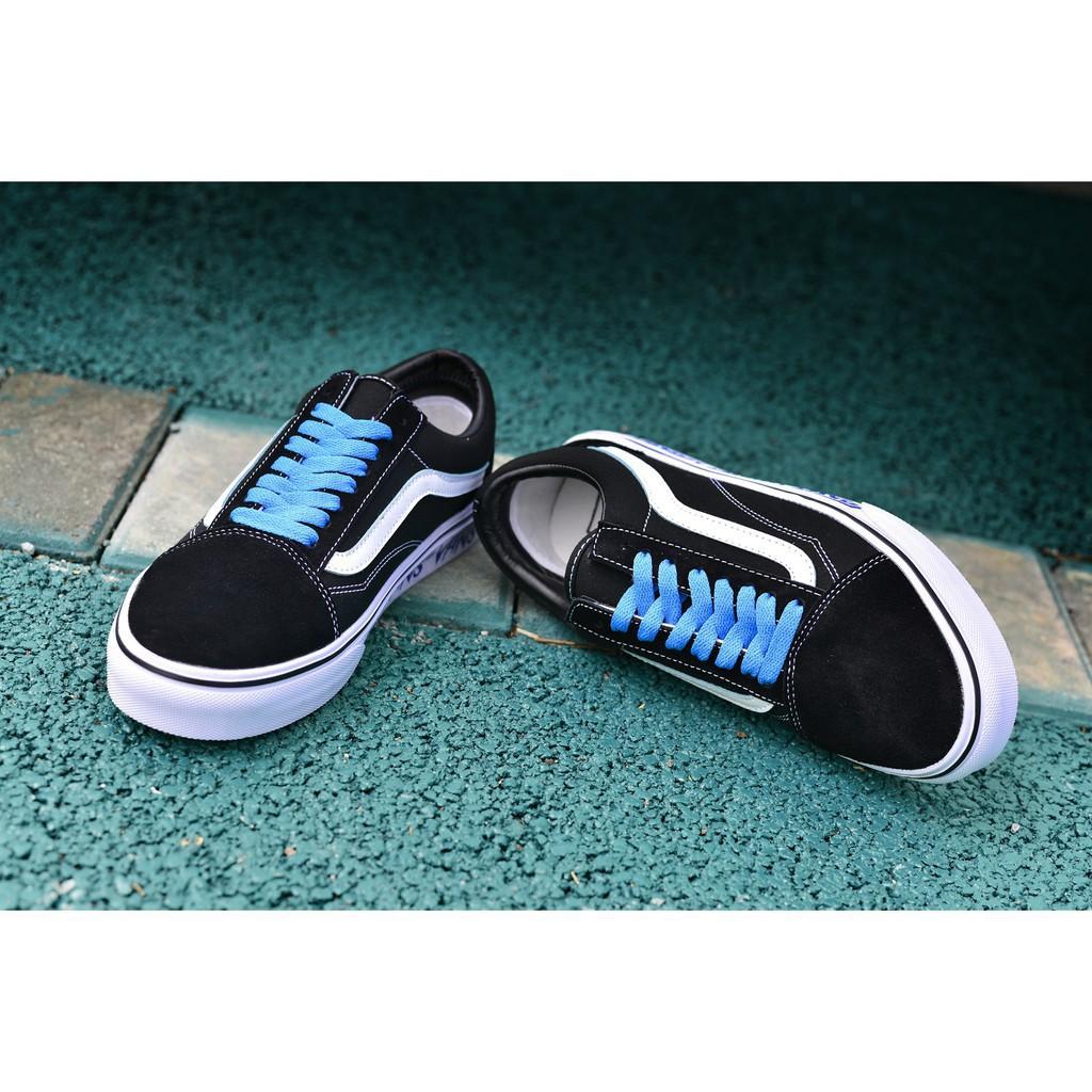 <AB> Vans ผู้หญิงผู้ชายรองเท้าผ้าใบคลาสสิกเก่า Skool รองเท้าไม่มีส้น Slip-27