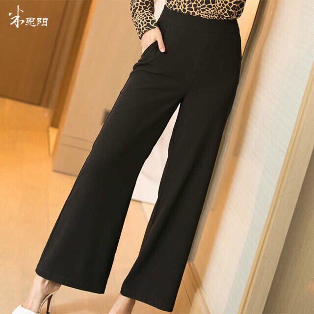 [Mã FAMAYWA giảm 10K đơn 50K] quần ống suông dài khóa sườn Fashion