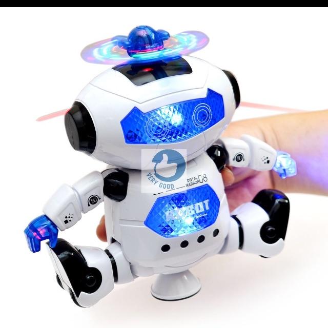 Combo robot và xe kem