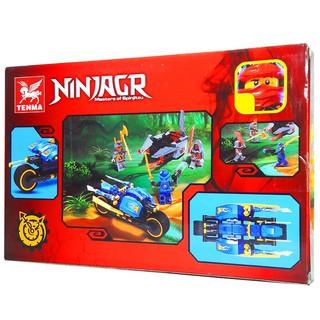 Bộ Lego xếp hình Ninjago phi thuyền không gian. Gồm 223 Chi Tiết. Lego Ninjago Lắp Ráp Đồ Chơi Cho Bé