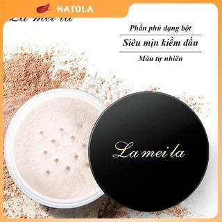 Phấn phủ kiềm dầu Lameila dạng bột siêu mịn màu tự nhiên 6g phấn trang điểm HATOLA thumbnail