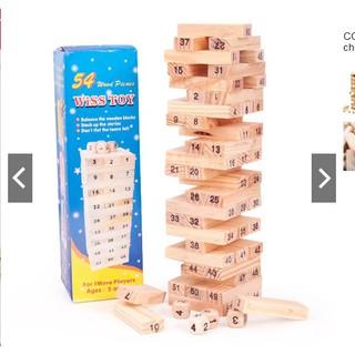 Bộ đồ choi rút gỗ loại to 23cm [DLS]