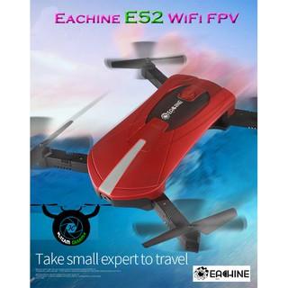 Flycam Eachine E52 WiFi FPV với chế độ giữ cao có thể gập lại cánh tay