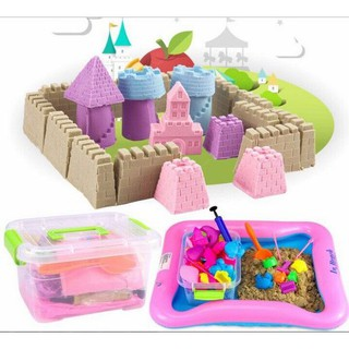 Bộ đồ chơi tạo hình cát động lực cho bé Eviễn
