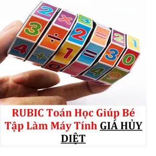 Rubic Toán Học Giúp Bé Tập Làm Phép Tính