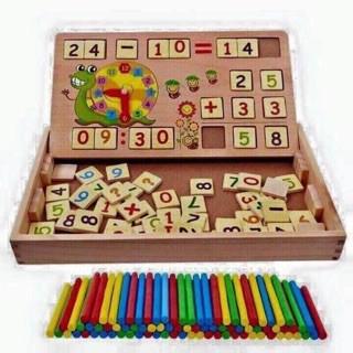 Bộ ghép hình học toán cho bé_Siêu Rẻ