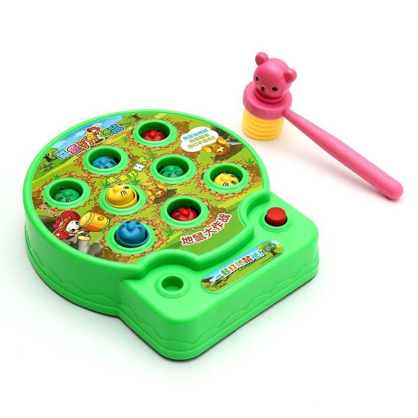 Đồ chơi đập chuột cho bé - đồ chơi trẻ em giúp luyện nhanh tay nhanh mắt