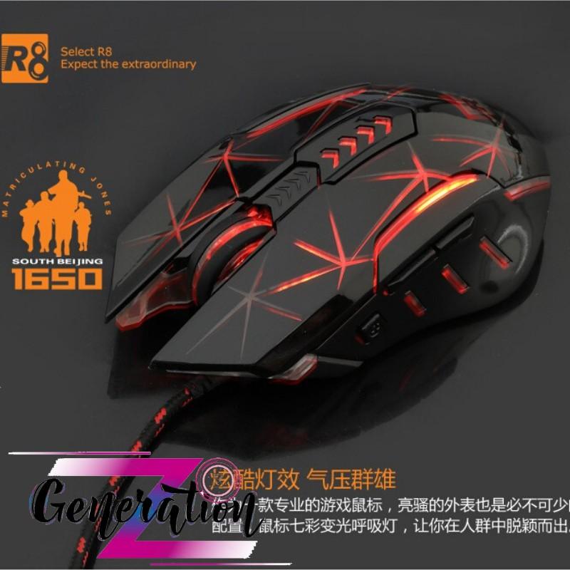 CHUỘT QUANG LED R8 1650 - MOUSE LED R8 (1650)