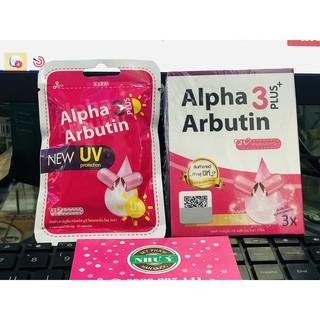 01 VĨ Kích Dưỡng Trắng và Chống Nắng New UV Alpha Arbutin 3 Plus (vĩ 10v)