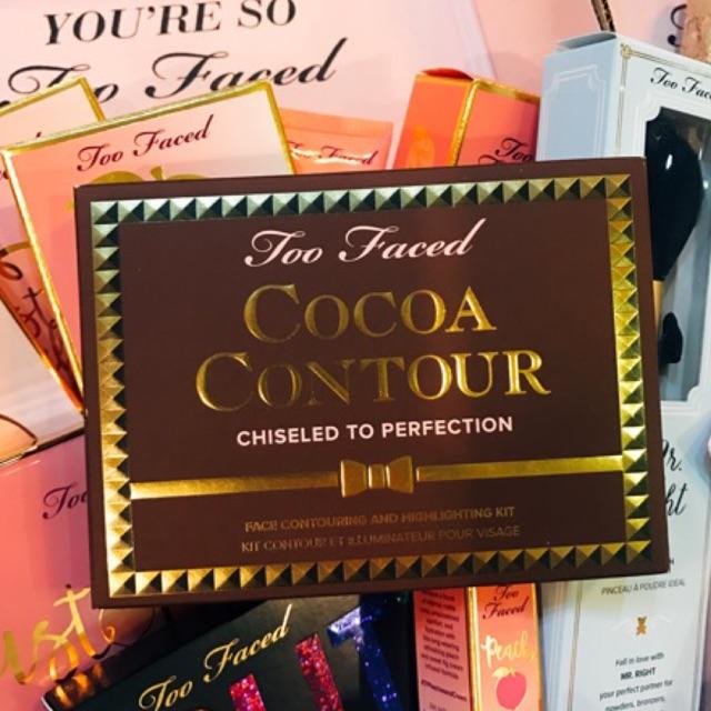 [Too Faced] Bảng tạo khối Cocoa Contour