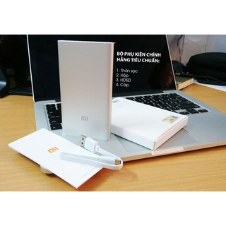 Pin sạc dự phòng Xiaomi 5000mAh (Silver)