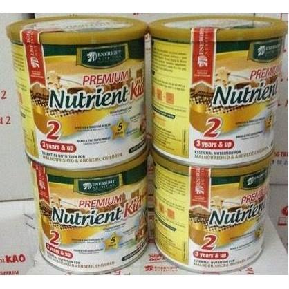 Combo 4 lon sữa nutrient kid 2-cho trẻ trên 3 tuổi 700g