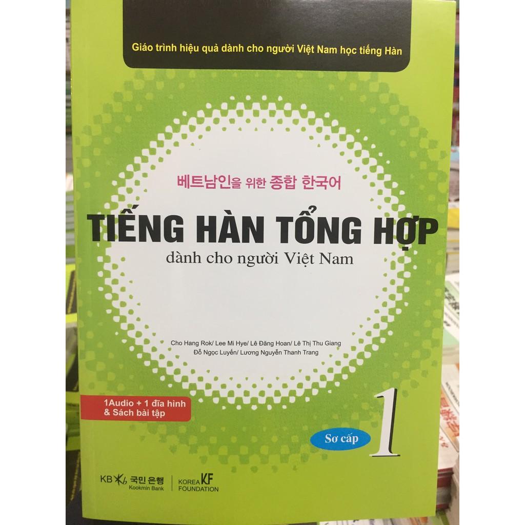 Giáo Trình Tiếng Hàn Tổng Hợp dành cho người Việt Sơ cấp 1 SGK