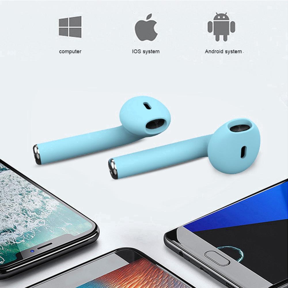 Vỏ silicon bọc hộp đựng tai nghe TWS không dây cho thiết bị Android