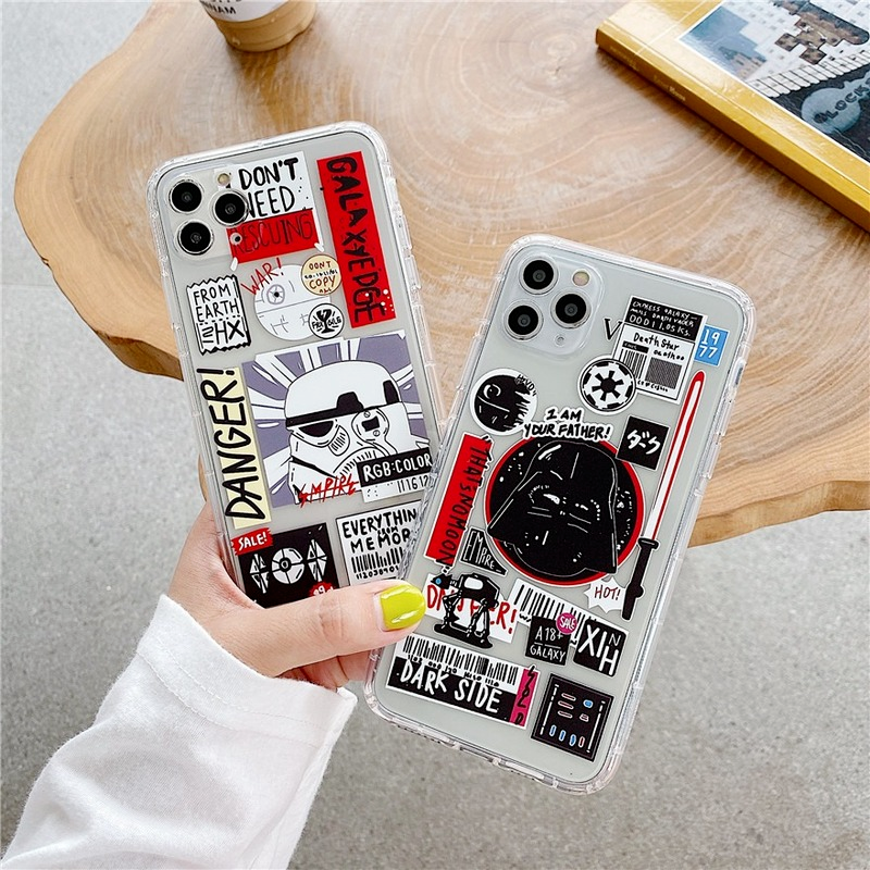 Ốp Lưng Trong Suốt In Hình Nhân Vật Jedi Cho Huawei Y7A Y6P Y7P 2020 Y6S 2019 Y9S P30 P20 Pro Mate 30 20 Pro