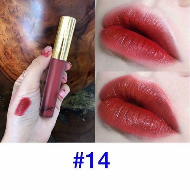 Son kem Bbia Last Velvet Lip Tint Version 5 Màu 14 15 12 24 25