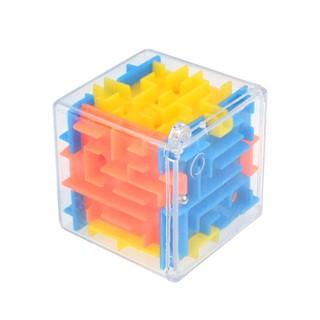 High 3D Magic Cube Puzzle Maze Toy Kids Educational Decompression Capsule Toys