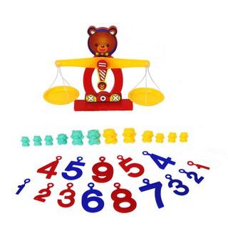 Sale99 Bộ học cân nặng cân bằng thú vị Dream Toy (Giao màu ngẫu nhiên) vinmart001