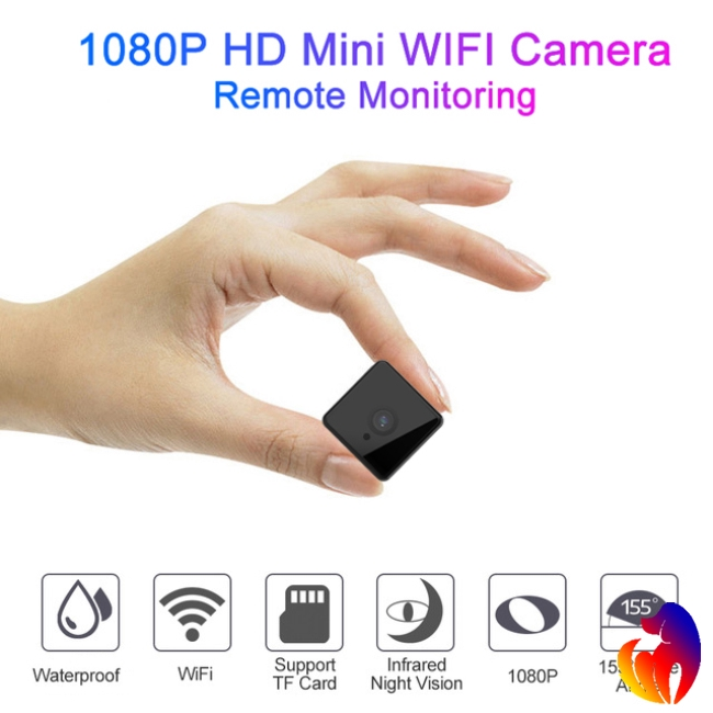X6 Wifi Micro Camera Night Version Mini Action Camera with Motion Sensor Camcorder Voice Video Giá chỉ 758.100₫