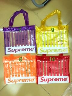 Túi nhựa nhiều màu size lớn