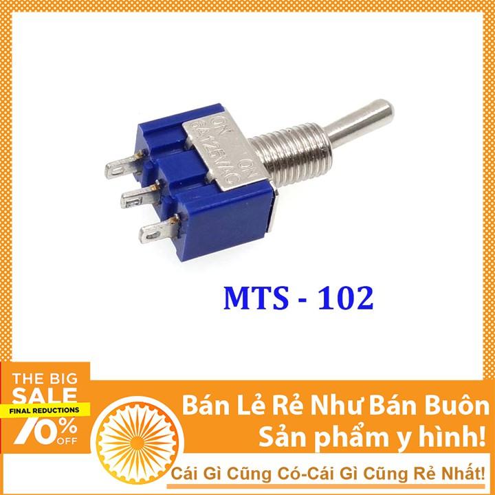 Công Tắc Gạt MTS-102 3 Chân 2 Vị Trí 2A 250VAC