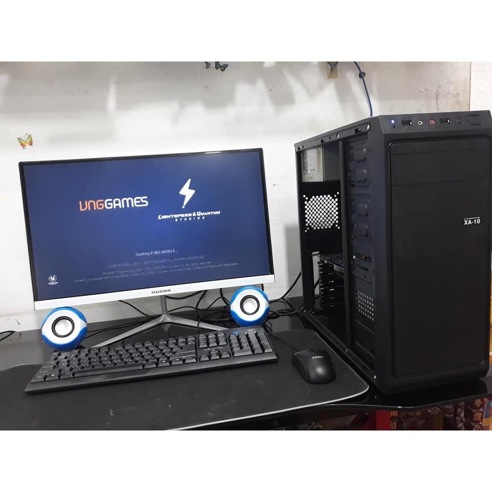Bộ máy tính để bàn giá rẻ màn 24 inch cong, ful viền, mới ful hộp BẢO HÀNH 12 THÁNG | SaleOff247