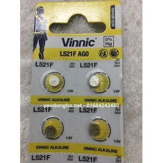 Vĩ 10 viên Pin L521F - AG0 Vinnic