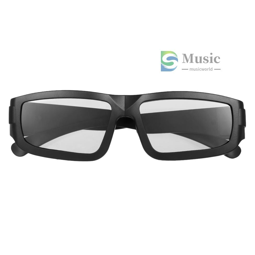 〖MUSIC〗Passive 3D Glasses Circular Polarized Lenses for Polarized TV Real D 3D Cinemas for Panasonic