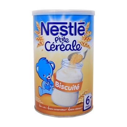 Bột pha sữa Nestle 6M+ vị bánh biscuite loại 400g - Bột lắc sữa Nestle