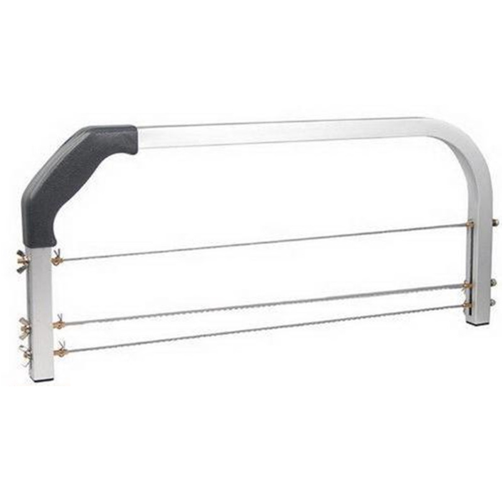 Kitchen DIY Baking Adjustable Accessories Tools Interlayer Stainless Steel Professional 3 Bars Cake Slicer