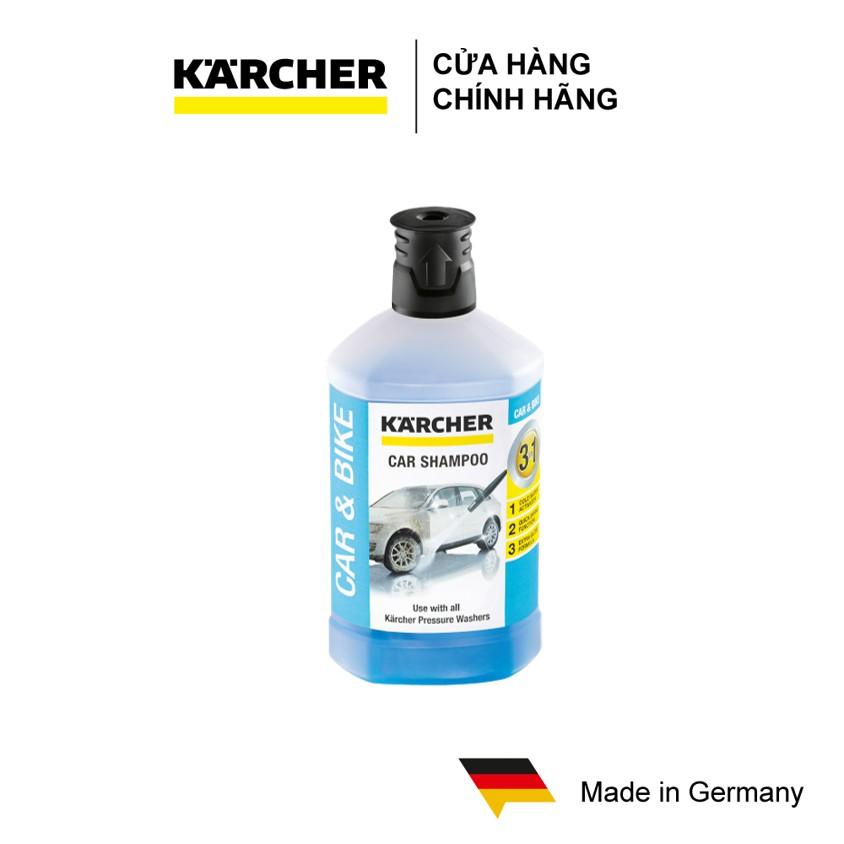 Chất tẩy rửa xe hơi Karcher 3 trong 1 (1 lít)