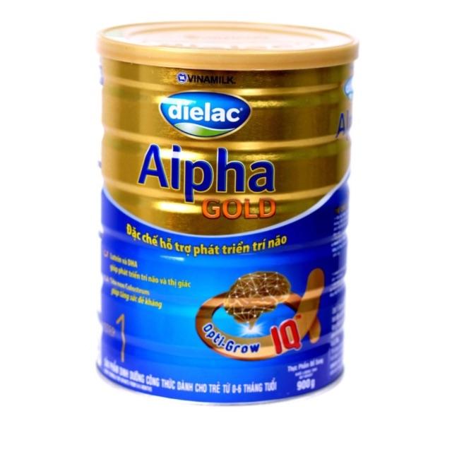 Sữa Dielac alpha gold 1 900g cho bé từ 0-6 tháng tuổi
