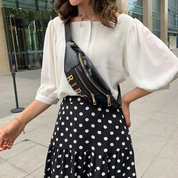 Túi bao tử đeo chéo nữ phong cách Hàn Quốc cực chất - TXN104 - 2483