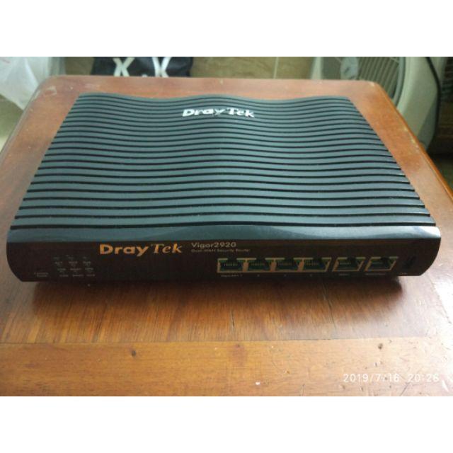 Cân bằng tải router draytek 2920 Giá chỉ 1.000.000₫