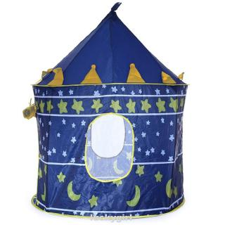 Castle Play Tent Portable Foldable Tipi Prince Folding Children Boy Cubby House Kids Gifts Outdoor Toy Tents