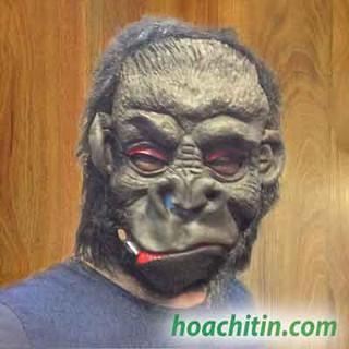 Mặt Nạ Da Khỉ King Kong Ma Quỷ Kinh Dị Halloween GCMD