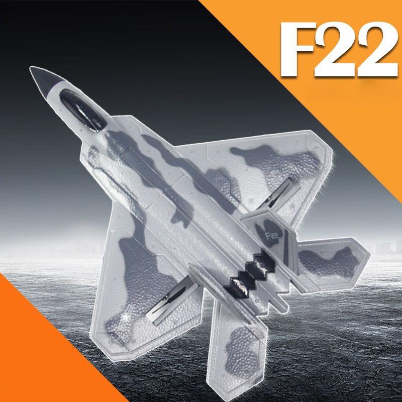 Bộ đồ chơi máy bay điều khiển từ xa F22 siêu ngầu tặng kèm pin điều khiển