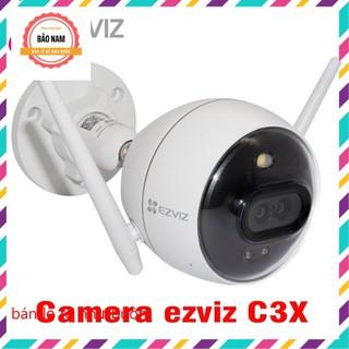 Camera Wifi Ezviz C3X 2.0M có còi + đèn + màu + ống kính kép + báo động
